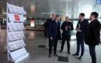 Contrôles du coronavirus : le préfet à l'aéroport d'Ajaccio