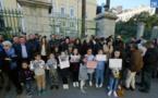 Ajaccio : Rassemblement de soutien à la famille marocaine expulsée de Corse