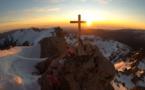 La photo du jour : lever de soleil sur le monte Rotondu