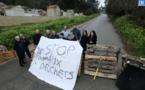 Ajaccio : le site de Saint Antoine bloqué
