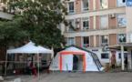VIDEO - Plan blanc à l'hôpital d'Ajaccio : «les mesures prises sont adaptées à la situation actuelle»