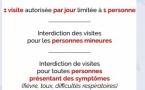 Coronavirus : les visites limitées à l'hôpital de Bastia