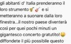 VIDEO - L'Italie unie contre le Coronavirus. Ce soir à 18h tutti inseme par-delà les frontières