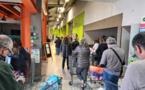 A Calvi comme ailleurs les supermarchés dévalisés !
