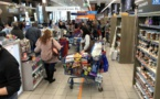 Confinement  jour 1 à Ajaccio : les supermarchés assaillis