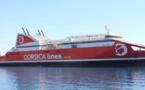 Corsica Linea suspend le transport de passagers entre Continent et Corse. Le fret assuré