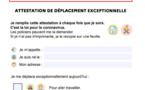 Coronavirus : téléchargez l'attestation de sortie simplifiée