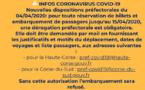 """Contrôle des déplacements vers la Corse : """"attention aux fake news"""" avertit la préfecture"""