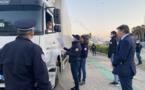 VIDEO - Bastia : le préfet de Haute-Corse contrôle les dérogations d'entrées sur le port