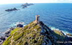 La photo du jour : les Îles Sanguinaires vues de la tour de la Parata