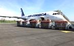 Covid-19 - Un stock de surblouses et de manchettes acheminé entre Lille et Ajaccio par Air Corsica