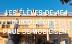 Covid-19 -Soutenons les héros du quotidien : l'hommage du collège Saint-Paul d'Ajaccio