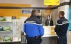 Coronavirus - La gendarmerie de Corse aux côtés de La Poste pour le maintien du service public.