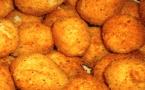A table : croquettes de pommes de terre au brocciu