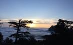La photo du jour : un lever de Soleil magique à Bavella