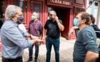 Déconfinement : les  élus calvais à la rencontre des commerçants et de la population