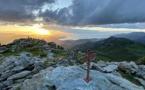 La photo du jour : au sommet du Zucarellu…