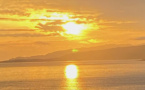 La photo du jour : boule de feu dans le golfe du Valincu