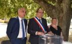 Installation du conseil municipal en plein air à Calenzana !