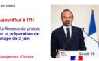 Suivez le discours d'Édouard Philippe et les annonces sur le déconfinement