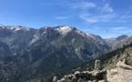 La photo du jour : le massif du Ritondu vu depuis Alzu