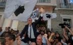 La victoire de Jean-Christophe Angelini à Porto Vecchio. Photo Michel Luccioni