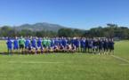 Joueurs et staff à la reprise ce lundi matin à l'Igesa