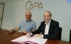 Peri : la commune signe une convention avec la CAPA pour faire «rayonner» le nouveau centre intercommunal