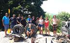 Derniers préparatifs en tournage pour les jeunes de la Mission CorSeaCare