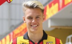 Tom Ducrocq (RC Lens) arrive au Sporting