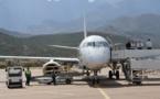 """Plusieurs avions """"cloués au sol"""" à l'aéroport de Calvi"""