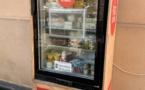 L'Ile-Rousse : Le frigo solidaire à nouveau fonctionnel