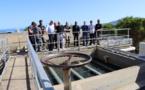Unité de production d'eau potable de Calvi : nouvelle étape de clarification par flottation
