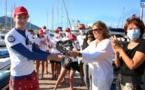La Marie-Do remet son « cœur d'or » à Med' in Corse