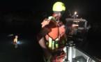La SNSM de Propriano porte secours à un bateau échoué au fond de l'étang de Tizzano
