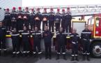 Les jeunes sapeurs-pompiers volontaires de Calvi présentés ce dimanche à Saint-Florent