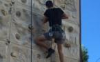 Découverte de l'escalade pour les lycéens bastiais