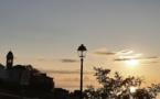 La photo du jour : le clocher de Santa Maria et la citadelle de Bastia