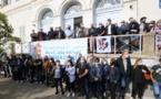 Plus d'une centaine de personnes mobilisées à Ajaccio pour la défense du corse