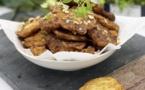 A table : les beignets de poireaux avec… La petite cuisine de Marie