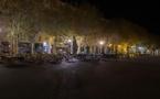 Covid-19. Le premier soir de couvre-feu Bastia est une ville fantôme