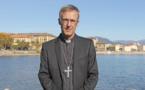 L'administrateur diocésain d'Ajaccio, Mgr Olivier de Germay