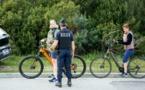 EN IMAGES - Ajaccio : de nombreux contrôles de police pour les attestations de déplacement