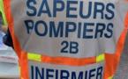 La voiture tombe 40 m en contrebas de la route : une jeune femme blessée à Venaco