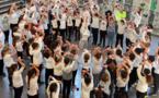 VIDEO - Le collège de Biguglia rend un hommage émouvant à Samuel Paty