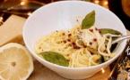 A table : pasta al lemone avec la… petite cuisine de Marie