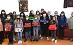 Bastia : le beau moment de partage des collégiens de Giraud