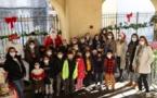 Noël des enfants de l'école Bariani à Calvi