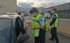 EN IMAGES - Arena-Vescovato : contrôles préventifs des forces de l'ordre avant le réveillon de Noël
