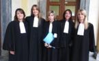 Les jeunes avocates et le bâtonnier